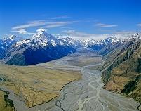 ニュージーランド クック山とマウント・クック空港