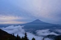山梨県 新道峠 富士山