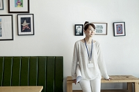 カフェでのビジネスイメージ