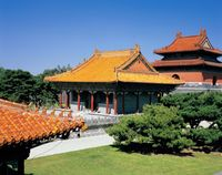 中国 北陵・隆恩殿