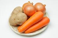 根野菜三種類