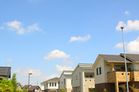 青空の住宅街