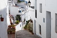 スペイン フリヒリアナ 白い街