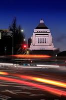 国会議事堂の夜景