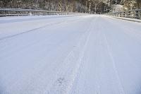 北海道 雪道