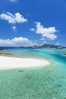 沖縄県 慶留間島(げるまじま)と海