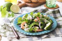 ゴーヤと海老のサラダ