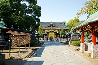 東京都 上野公園 上野東照宮 唐門