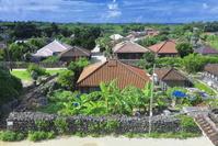 沖縄県 竹富島の家並