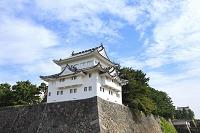 愛知県 名古屋城の西南隅櫓と東南隅櫓