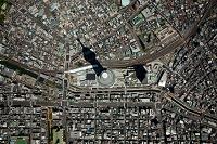 東京都 東京スカイツリー(垂直撮影)