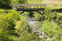 愛媛県 河内の屋根付き橋