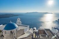ギリシャ サントリーニ島 教会