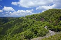 和歌山県 新緑の護摩壇山と高野龍神スカイラインとごまさんスカ...