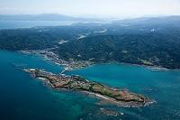 通詞島と五和町の海岸線