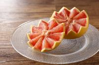 飾り切りグレープフルーツ