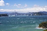 兵庫県 鳴門海峡と大鳴門橋