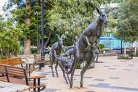 オーストラリア パースのカンガルー像