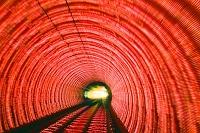 上海 外灘観光隧道