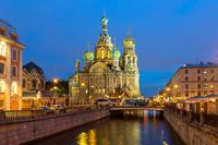 ロシア 血の上の救世主教会