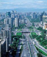 中国 ペキン 街並み