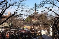 埼玉県 川越正月風景