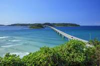 山口県 角島大橋と角島