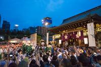 大阪府 天神祭の獅子舞