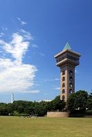 相模原麻溝公園のグリーンタワー