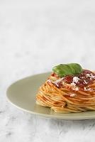 トマトーソースのスパゲティ