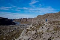 アイスランド デティフォス滝