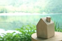 長野県 諏訪 木製の家