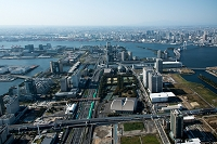 東京都 有明より台場周辺