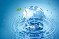 水と地球儀