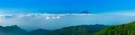 山梨県 富士山と雲海