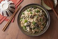 牡蠣の炊き込みご飯