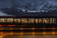 フランス 夜の列車