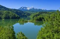 北海道 大雪湖と大雪山
