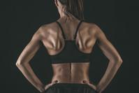 外国人女性の筋肉