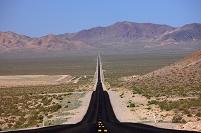 アメリカ合衆国 ネバダ州の直進道路