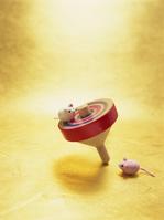独楽とネズミ
