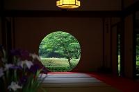 神奈川県 鎌倉市 明月院の丸窓