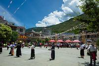 中国 四川省の村