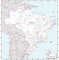 ブラジル 交通図