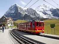 スイス 登山列車