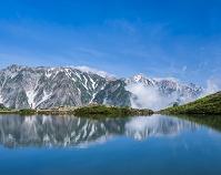 長野県 八方池と白馬連峰