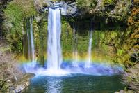 静岡県 虹のかかる音止めの滝