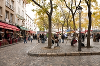 フランス パリ テルトル広場