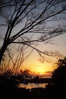伯方島から見る初日の出