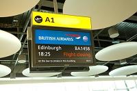 スコットランド 空港